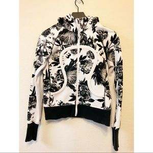 Lululemon Scuba Hoodie Brisk Bloom Floral Jacket